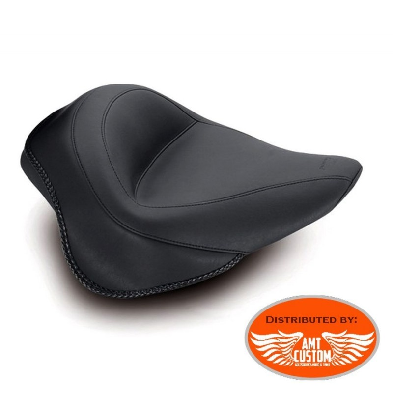 "Softail solo seat Slim FLS et Blackline FXS ""Vintage"" comfort Harley Davidson"