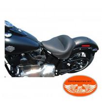 "solo seat Softail Slim FLS et Blackline FXS ""Vintage"" comfort Harley Davidson"