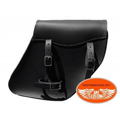 installation leather solo bag Harley Davidson Dyna Street Bob FXDB, Low Rider FXDL, Wide Glide FXDWG, Fat Bob FXDF