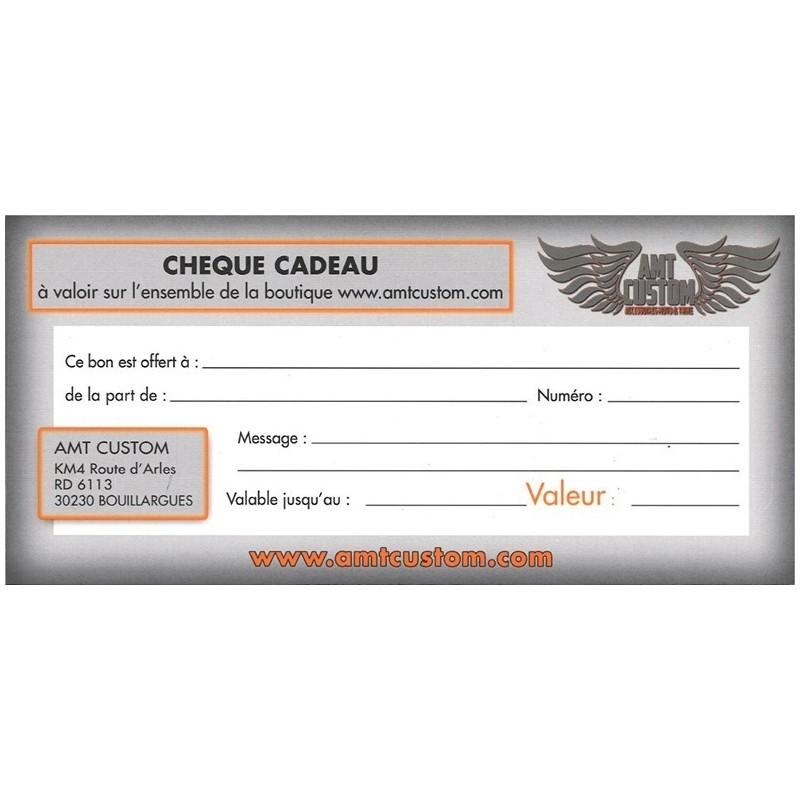 Chèque Cadeau - Valeur 10€ à 150€