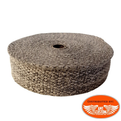 Thermal tape for exhaust pipe motorcycle