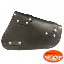 Triangular bag custom leather motorcycle for Harley Davidson Sportster