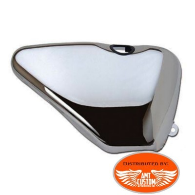 Sportster Chrome Oil Tank Cover XL883 and XL1200