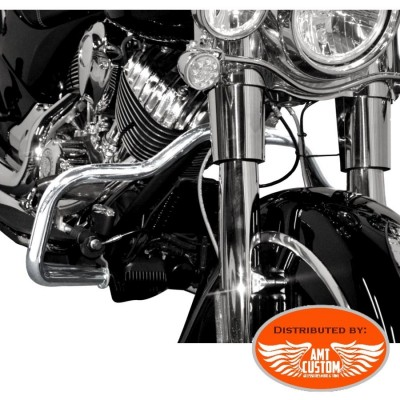 Indian Fat Engine guard 32mm Chrome for Chief Classic Vintage and Dark Horse
