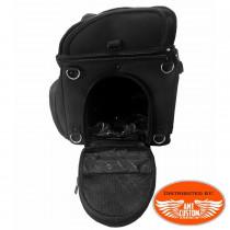Sacoche moto chien & chat -  Panier Top Case motos et trikes