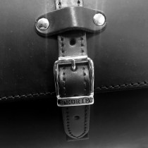 Sacoche Valise Top Case Cuir 2 casques motos et trikes