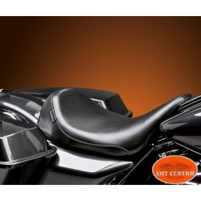 """Electra Glide Solo Seat """"Silhouette"""" for Harley FLHR Road King, FLHT Electra Glide, FLTR Road Glide"""