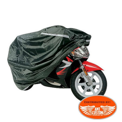 Black LUXE Protective motorcycle cover
