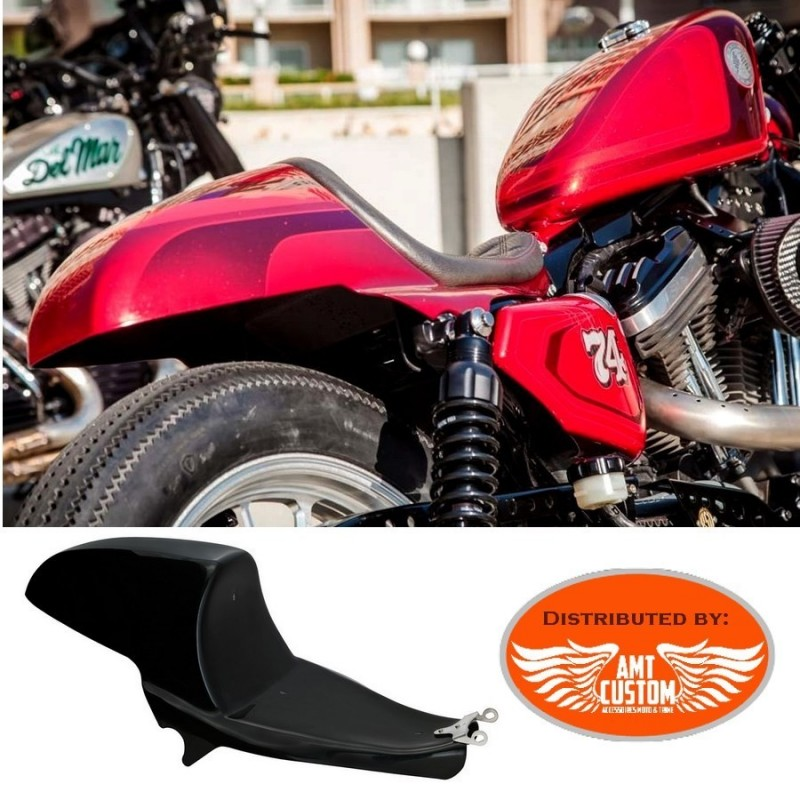 Sportster Café Racer Garde-boue support selle pour XL883 XL1200 Forty-Eight, Iron, Low, Nightster, Roadster, Custom, Seventy-Two