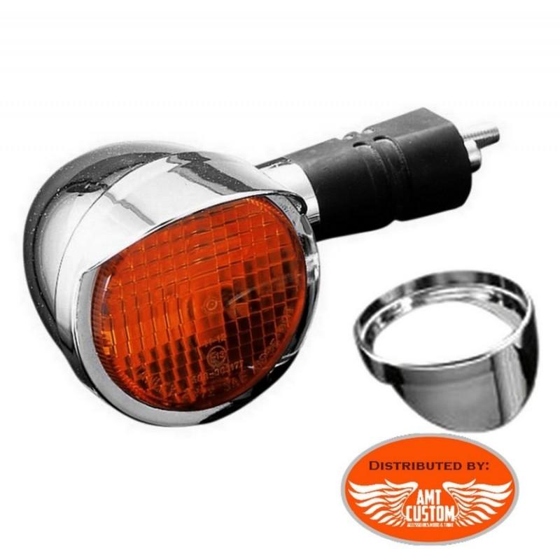Suzuki Set of turn signal visors cap for Intruder Boulvard C800 M800 VL800 VL1500 C1800 M1800
