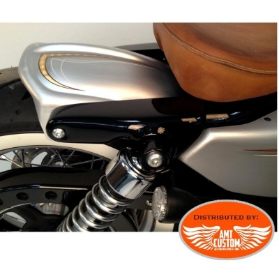 Sportster Short fender strut covers Bobber Forty Eight, Iron, Custom, Super Low, Seventy Two