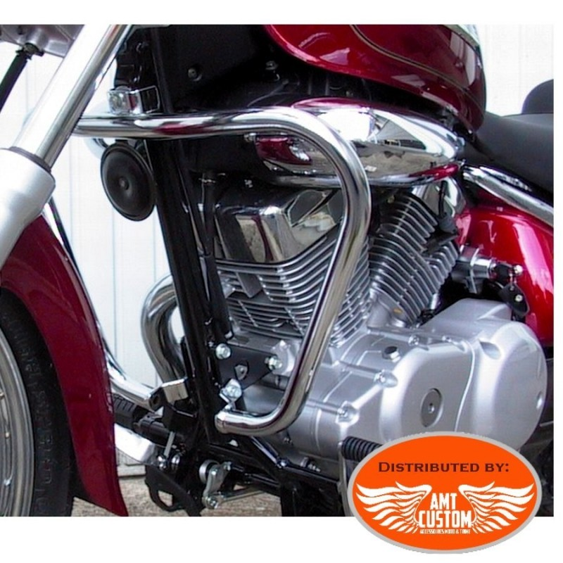 Suzuki VL125 Fat Engine guard Chrome for Intruder VL125 LC