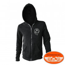 Hooded Lethal Kustom Motorcycles jacket