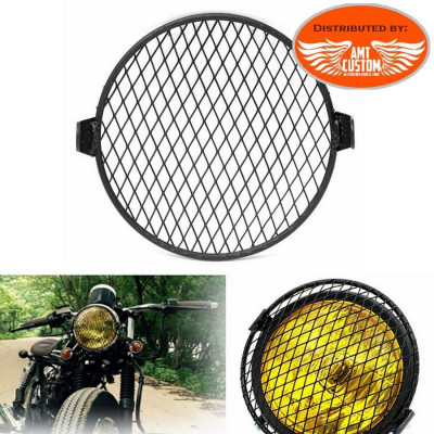 Motorcycle Headlight Black Mask Cover