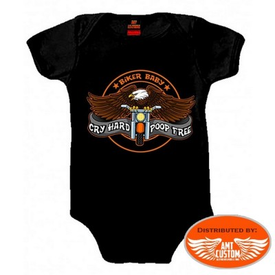 Biker baby Eagle motocycle Body