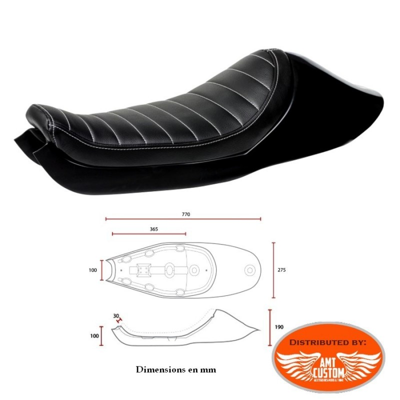 Sportster Tracker Seat Café Racer for Harley XL883 and XL1200