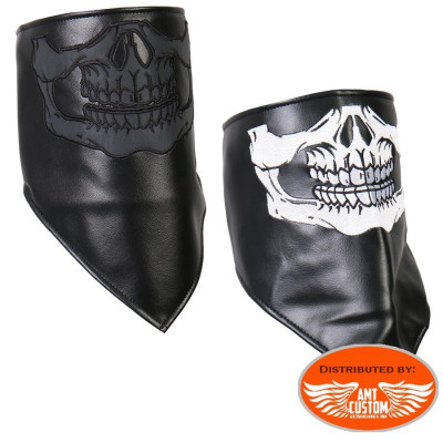 Scarf Mask Skull leather biker motorcycle