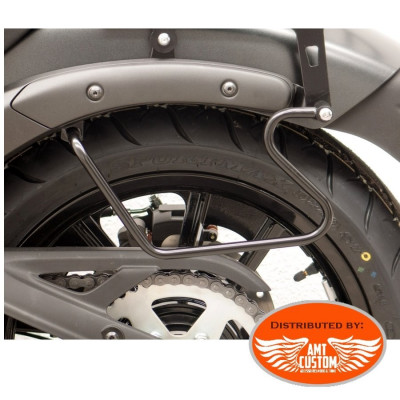 Kawasaki S650 Vulcan Mounting saddlebags holder
