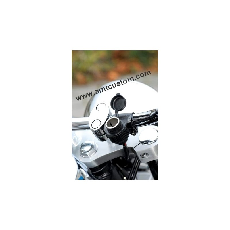cigarette lighter handelbar motorcycle harley trike custom biker