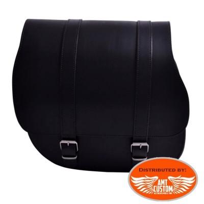 Dyna leather Single large solo bag for Harley Davidson