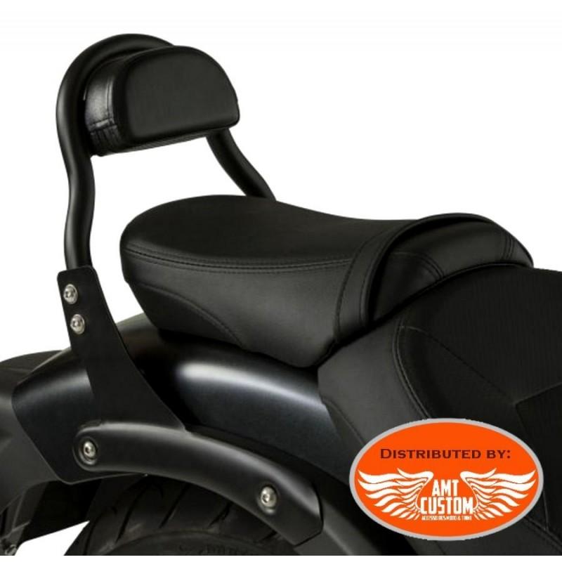 Kawasaki Sissy Bar Court Noir pour VN900 VN1500 VN1600 et EN650