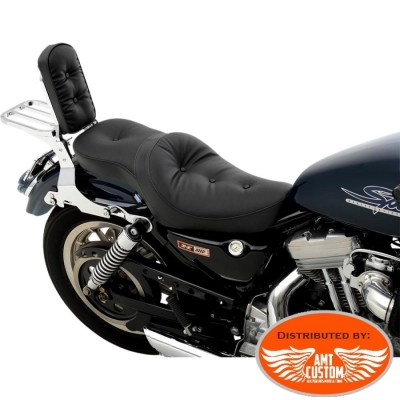 Sportster 1982 to 2003 Duo seat Pillow comfort Sportster XL 883 and 1200