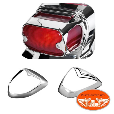 Suzuki Taillight Grills Chrome  Intruder C800, VL800, VL1500, M1500, C1800 et M1800