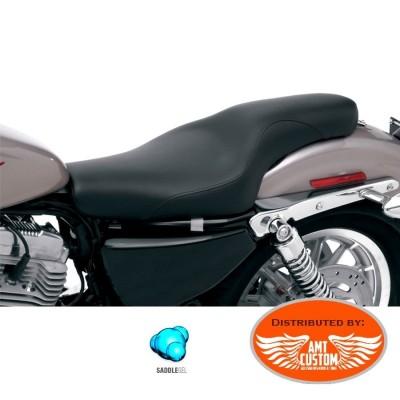 Sportster Selle Profiler Duo Gel confort XL883 XL1200 pour Harley de 2004 à aujourd'hui