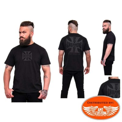 Tee-shirt  West Coast Choppers Croix de Malte