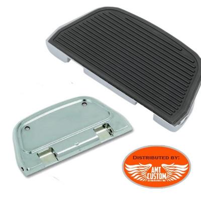 Softail Touring Passenger Floorboards chrome  Harley FLT FLHT FLHR FLHX FLTR FLST