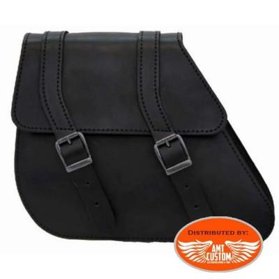 Swingarm bag for Dyna Harley Davidson Leather