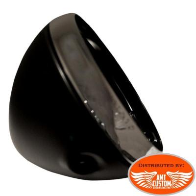 7'' Headlights Housing Black Shell motorcycles choppers