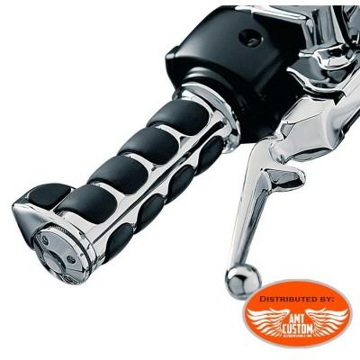 "Harley Iso Grips for Electronic Throttle Ultra comfort for 25 mm (1 "") handlebar"