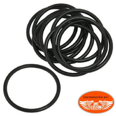 Bag of 14 Replacement rubber black rubber seals