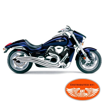 suzuki exhaust speedster swept intruder m1800r vzr1800 et. Black Bedroom Furniture Sets. Home Design Ideas