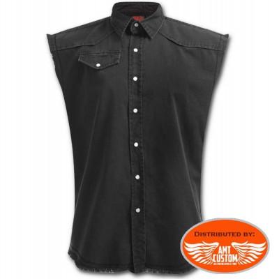 Black Jean Shirt