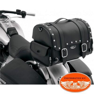 Sacoche sissy bar Valise Top Case clous moto custom