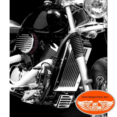 Honda Chrome Radiator Covers Motorcycles