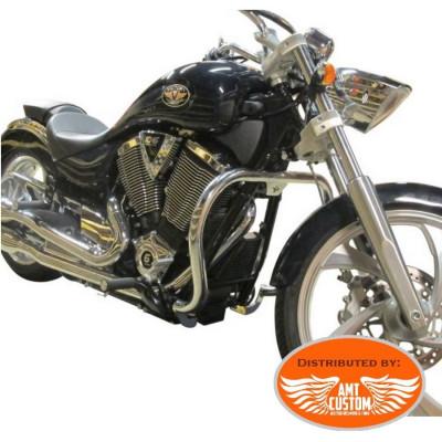 Victory Fat Engine guard Black or Chrome for Gunner, Hammer, Kingpin, Vegas, Judge et High Ball