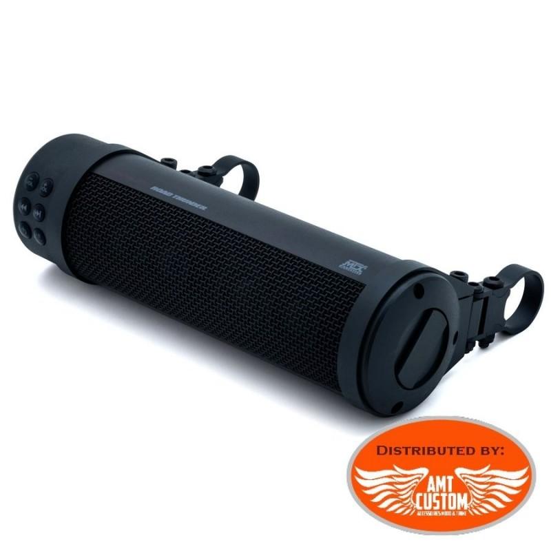 Barre son Noir guidon 150w Bluetooth Smartphone Moto Custom Trike