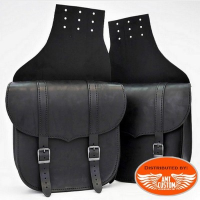 LEDRIE leather 2x9,5 liters - Custom bike