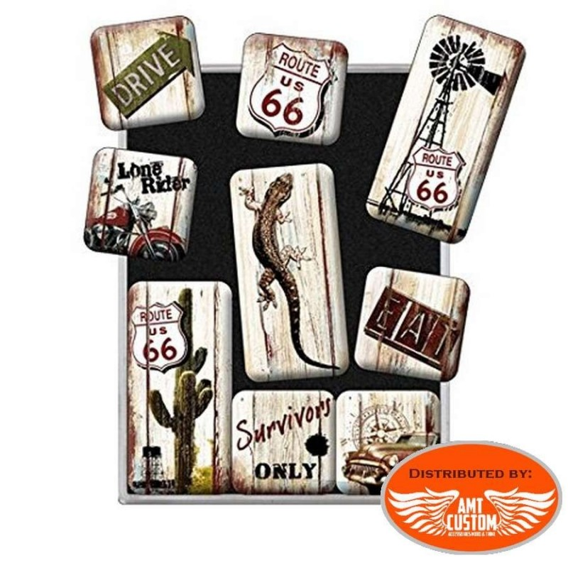 9 Magnets Route 66 original  driver mythic