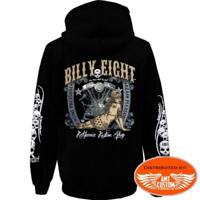 Veste capuche Biker Billy Eight Pressure