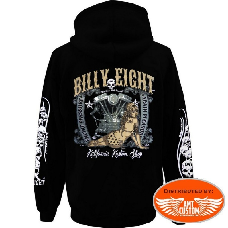 Engine Pressure Hooded Sweat Jacket Billy Eight