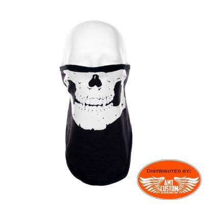 Masque Skull tête de mort tour cou