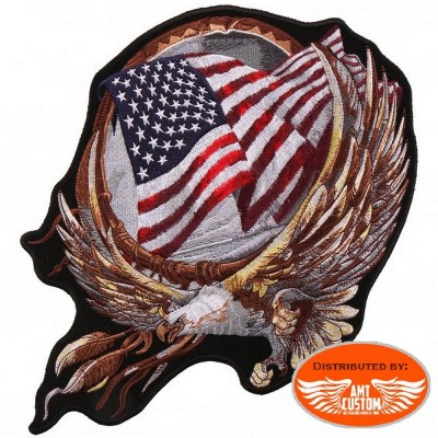 Eagle dream catcher Motorcycle  patch biker jacket vest