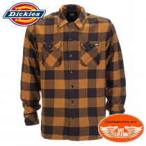 Dickies Shirt Brown Duck woodcutter type.