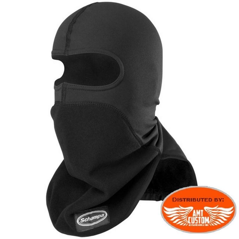 Masque Biker couvre cou et nuque polaire noir