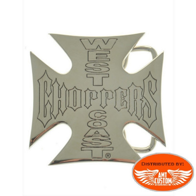 Iron Cross West Cast Choppers belt buckle