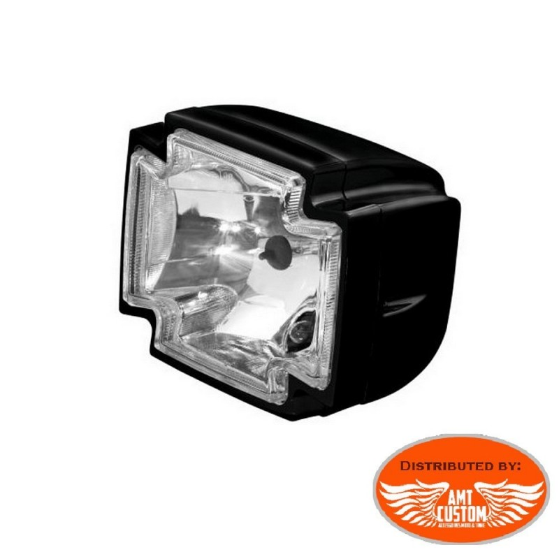 "Headlights chrome or Black 5,5"" / H4 55w for fork mount Bobbers, Choppers motorcycles"